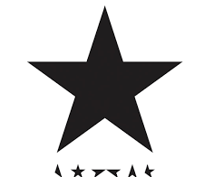 In homage to David Bowie, the last (black)star.